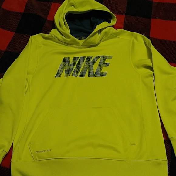 Buy Cool Shirts Kids Hoody Pullover Flourescent Yellow Lime Hoodie